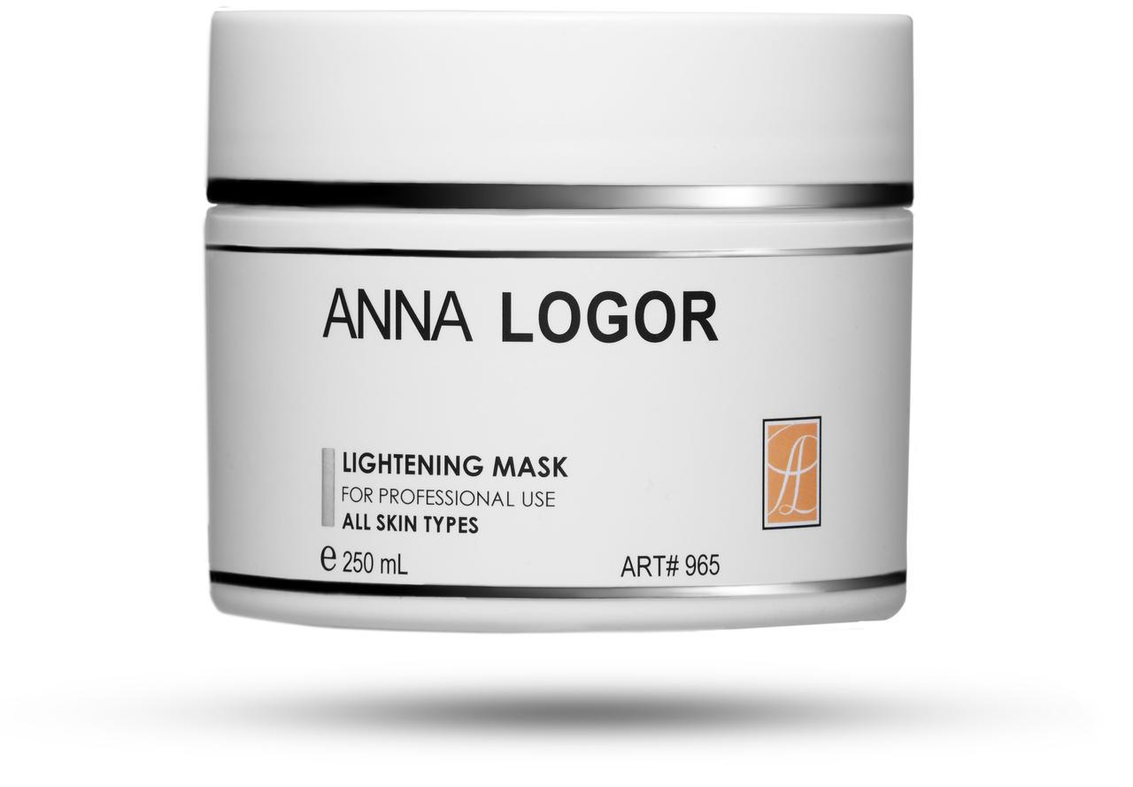 Маска осветляющая Anna LOGOR Lightening Mask 250 ml Art.965