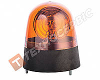 Маячок универсальный оранжевый 12V болт New Holland Турция Е-08