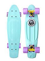 """Скейт Пенні Борд Penny Fish Skateboards Mint 22"""" м'ятний, лілові колеса"""