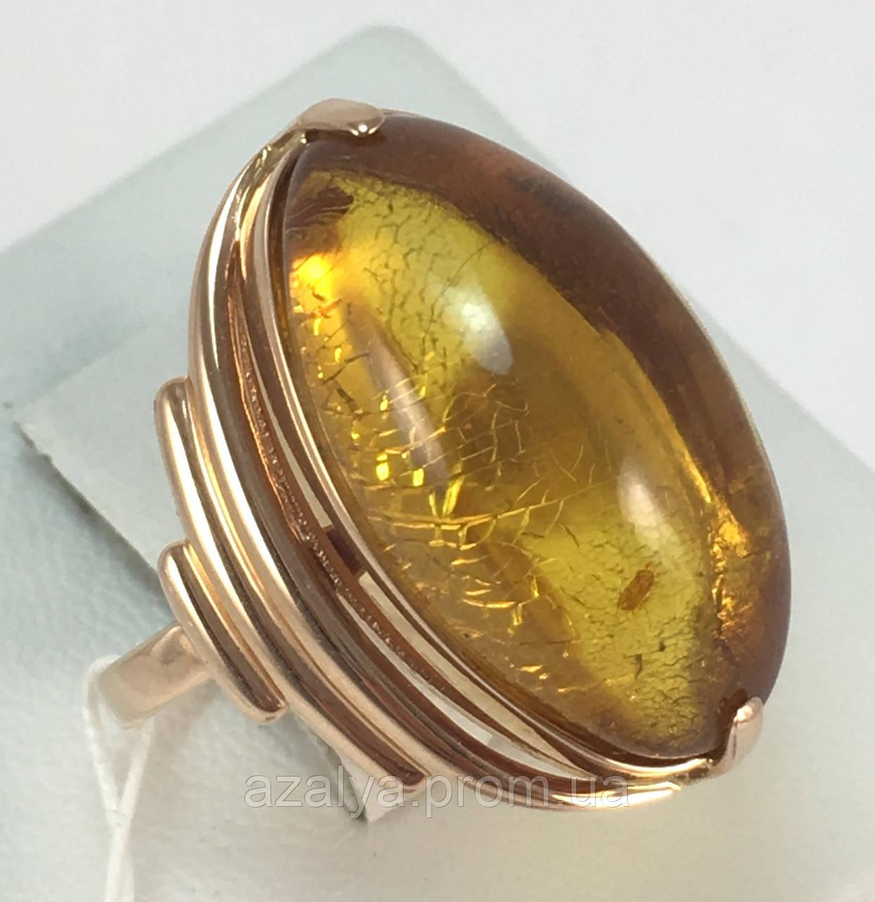 Золотое кольцо с янтарем, цитринами и раухтопазом SOKOLOV 714308*: красное  и розовое золото 58… | Золотое кольцо ... | 1280x1242