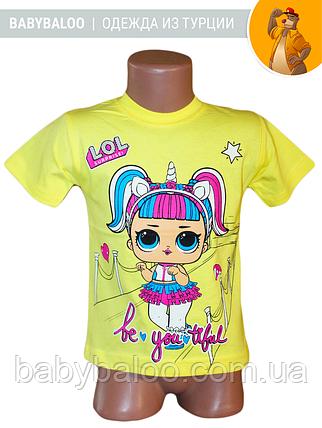 """Модная детская футболка """"LOL""""( от 1 до 3 лет) , фото 2"""