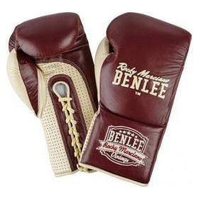Перчатки боксерские BenLee Rocky Marciano Steele 10 L (199103/2025) Бордовый