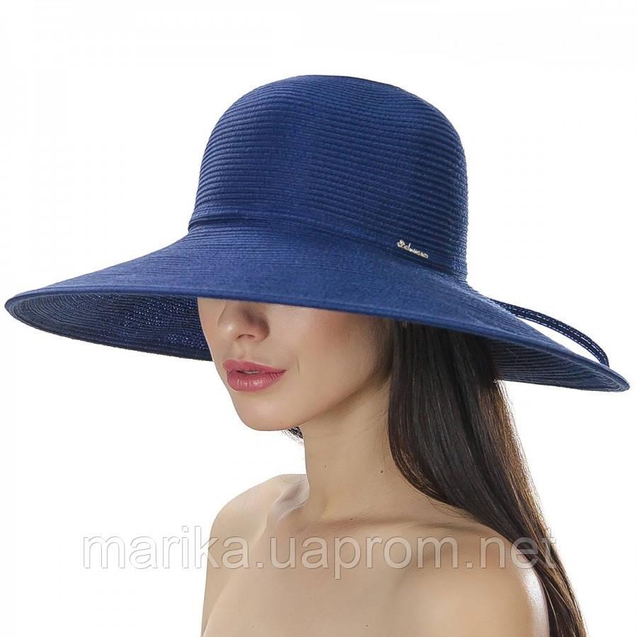 Шляпа пляжная с большими полями