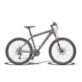 """Велосипед 26"""" CROSS GRX 9 27 spd рама 18"""" 2015 серый"""