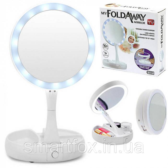 Зеркало с подсветкой My Fold Away