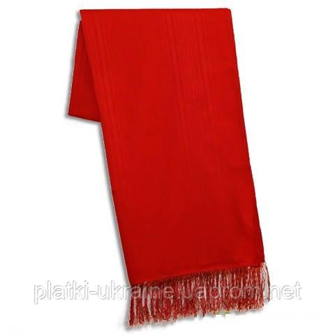 Однотонный красный