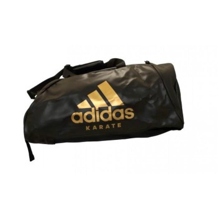 0f8431f32713 Сумка-рюкзак Adidas Karate 62х31х31 см (CC051K) Black/Gold - Wild Sport