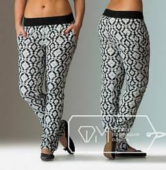Женские брюки штапель оа201