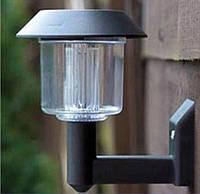 Светодиодная уличная бра светильник фонарь на солнечной батареи