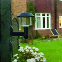 Светодиодная уличная бра светильник фонарь на солнечной батареи, фото 2