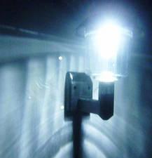 Светодиодная уличная бра светильник фонарь на солнечной батареи, фото 3
