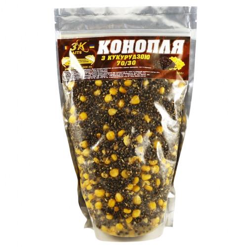 Прикормка  Конопля з кукурудзoю (70/30) 800 г