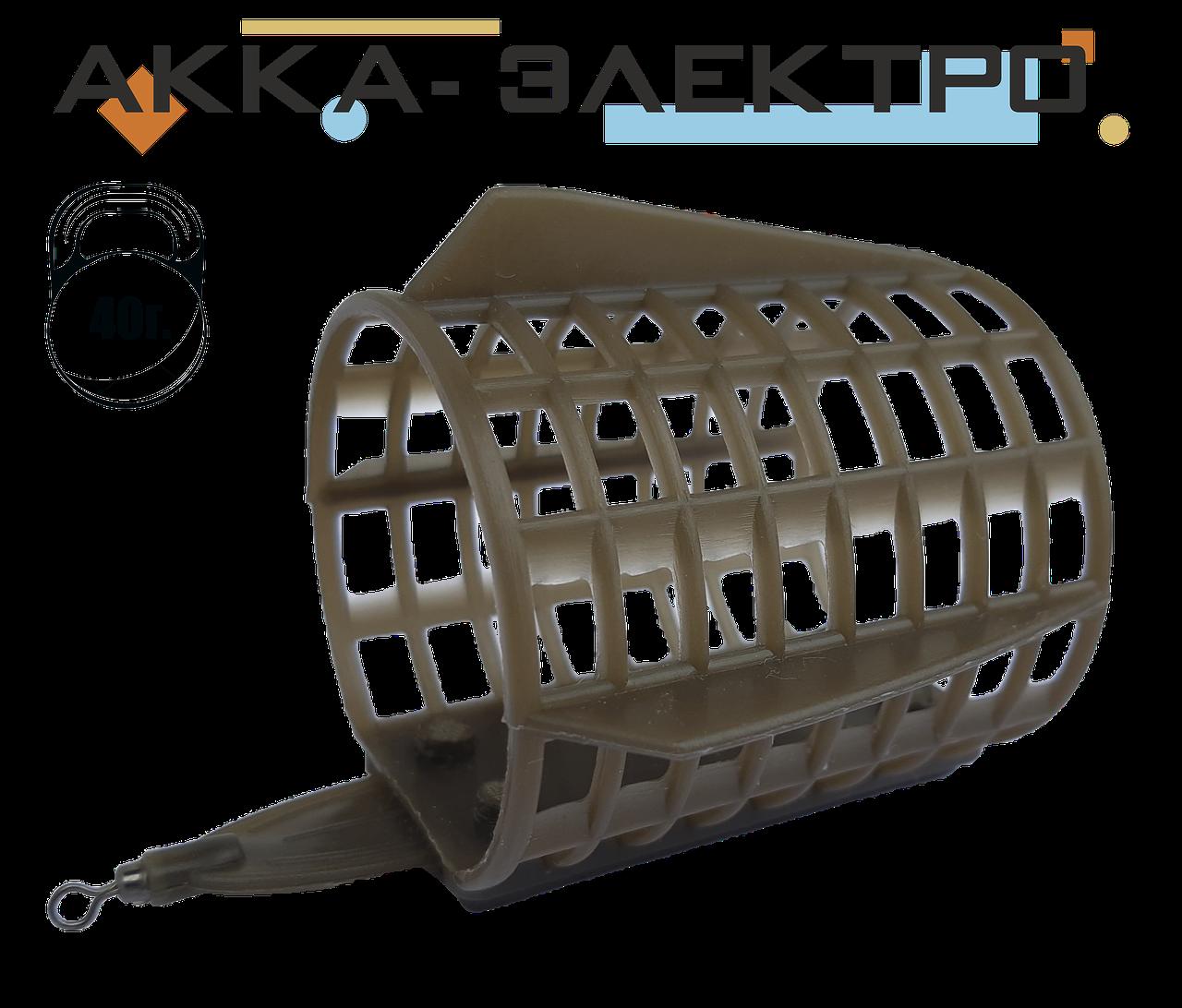 Кормушка FeederPRO закормочная 45х56мм 40г 10шт