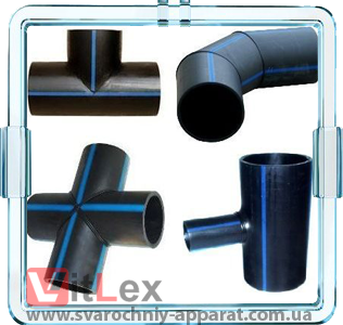 Полиэтиленовые стыковые сегментные фитинги ПНД (ПЭ-100, ПЭ-80)