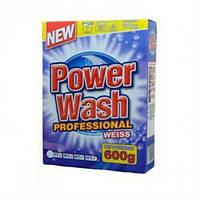 """Стиральный порошок без фосфатов """"Power Wash Professional"""" 600 г (для белых вещей)"""