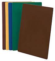 Доска для нарезки 375х500 коричневая
