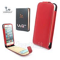 Voorca Откидной чехол-флип для Apple iPhone 5/5S Красный