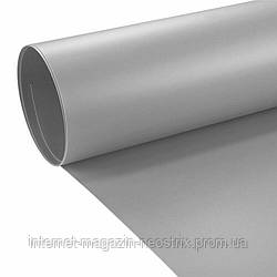 Студийный виниловый фон F&V 1х2 м (серый)