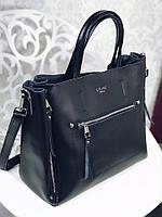 Кожаная сумка Классика копия Селин в натуральной коже