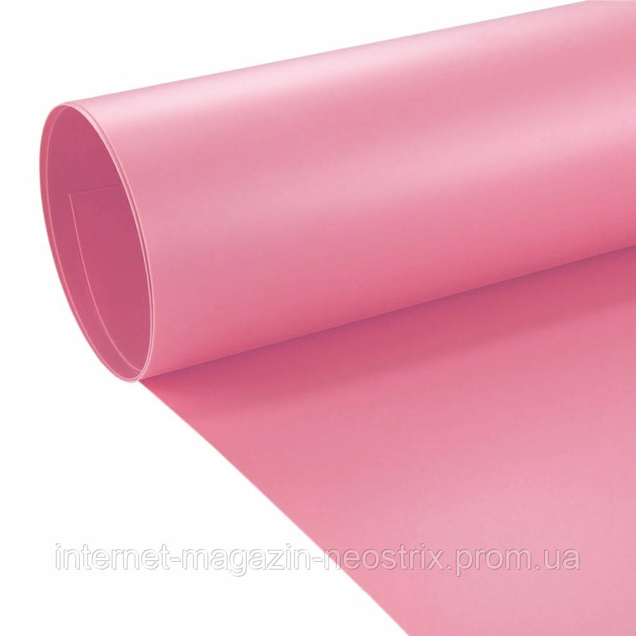 Студийный виниловый фон F&V 1х2 м (розовый)