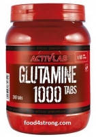 ActivLab Glutamine 1000  240 таблеток