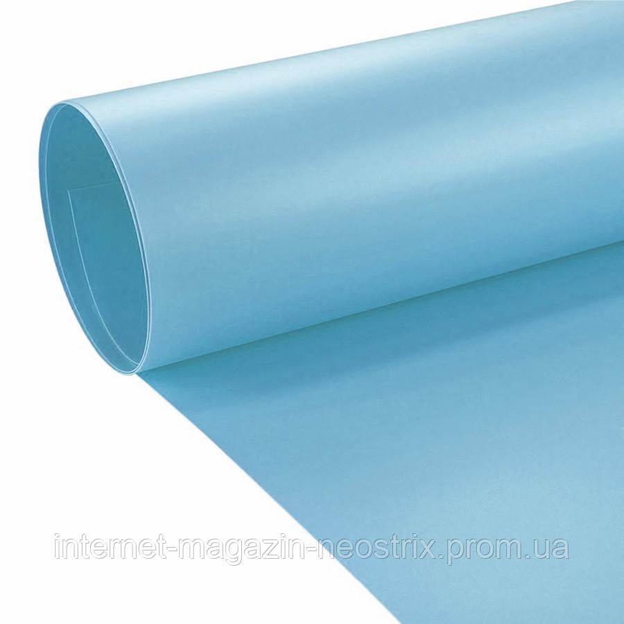 Студийный виниловый фон F&V 1х2 м (синий)