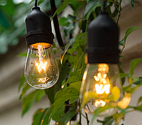 Гирлянда Белт-Лайт 5м, Е27х10, добавочная к 15м, без ламп