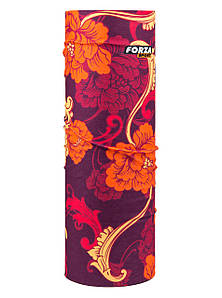 Бафф ForzaSport Peonia Бордово-оранжевый (fs021)