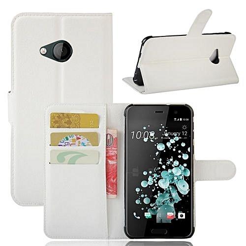 Чехол-книжка Litchie Wallet для HTC U Play White (lwwh0095)