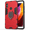 Чехол Ring Armor для Xiaomi Redmi Note 5 Pro Красный (hub_eAid96703), фото 5