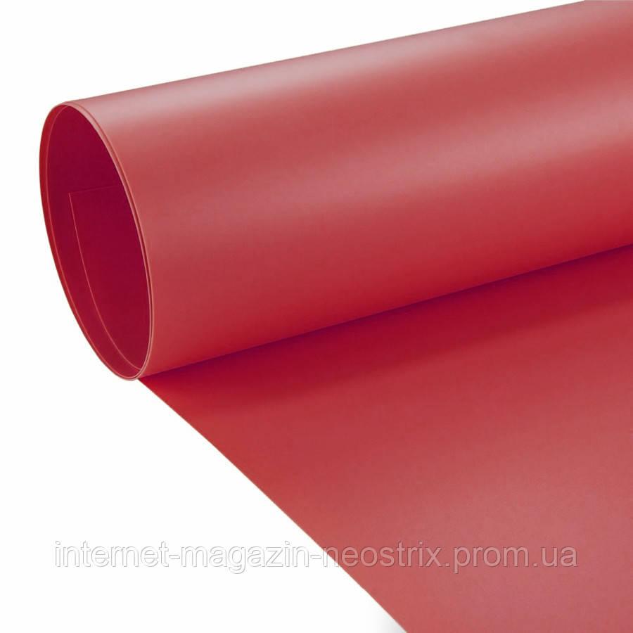 Студийный виниловый фон F&V 1х2 м (красный)