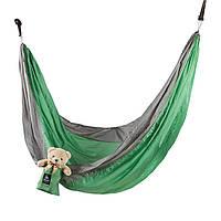 Гамак походной в сумке GreenCamp CANYON 310*220 прочный на дерево гамак