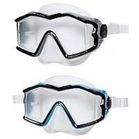Маска для плавания/ныряния Интекс/Intex: 2 цвета, от 12 лет