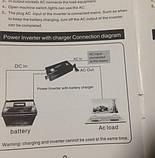 Преобразователь напряжения с подзарядкой CP-3000W Nippotec 12/220v 3000 Ватт, инвертор, фото 4