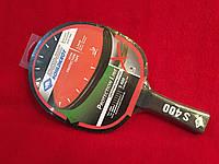 Ракетка для настольного тенниса с усиленной защитой торца Donic Protection Line S 400, фото 1