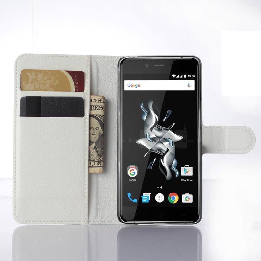 Чехол-книжка Litchie Wallet для OnePlus X White (lwwh0175)