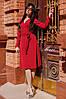 Платье на запАх из лёгкой воздушной ткани Ткань софт. Размер:42-46. Разные цвета (721), фото 6