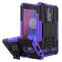 Чехол Armor Case для Lenovo K6 Power Фиолетовый