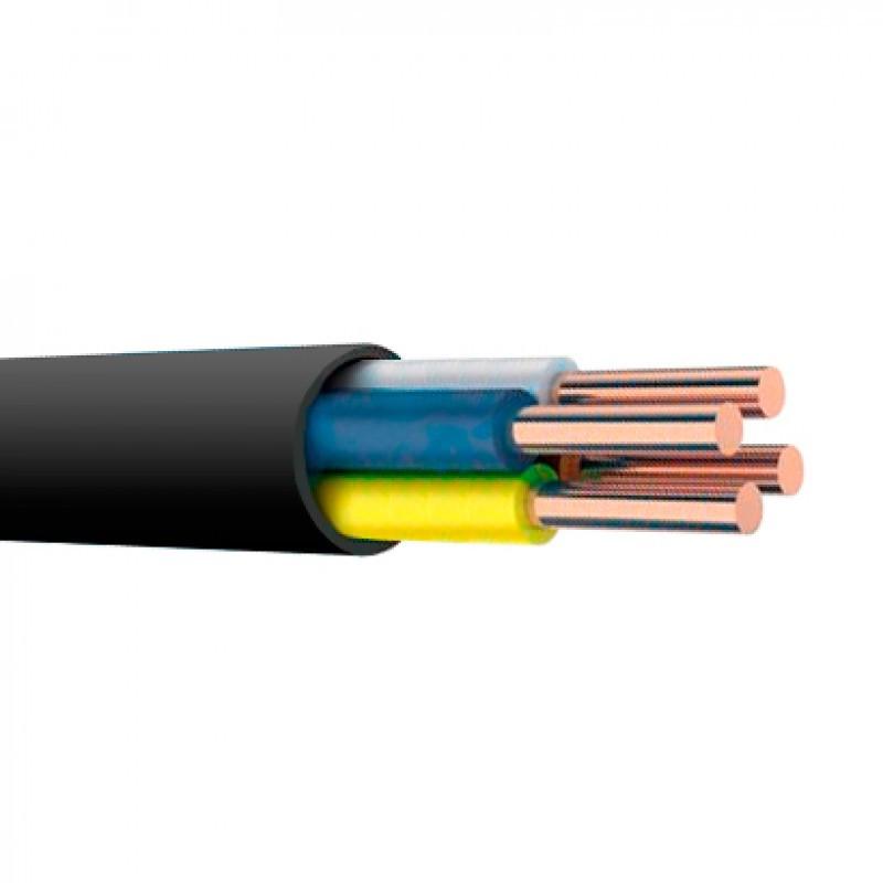 Силовой кабель ВВГнг 4х2.5 (4*2.5)