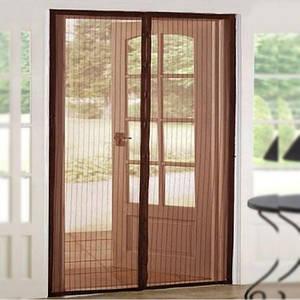 Противомоскитные магнитные шторы Magic Mesh 210100 коричневые 149817