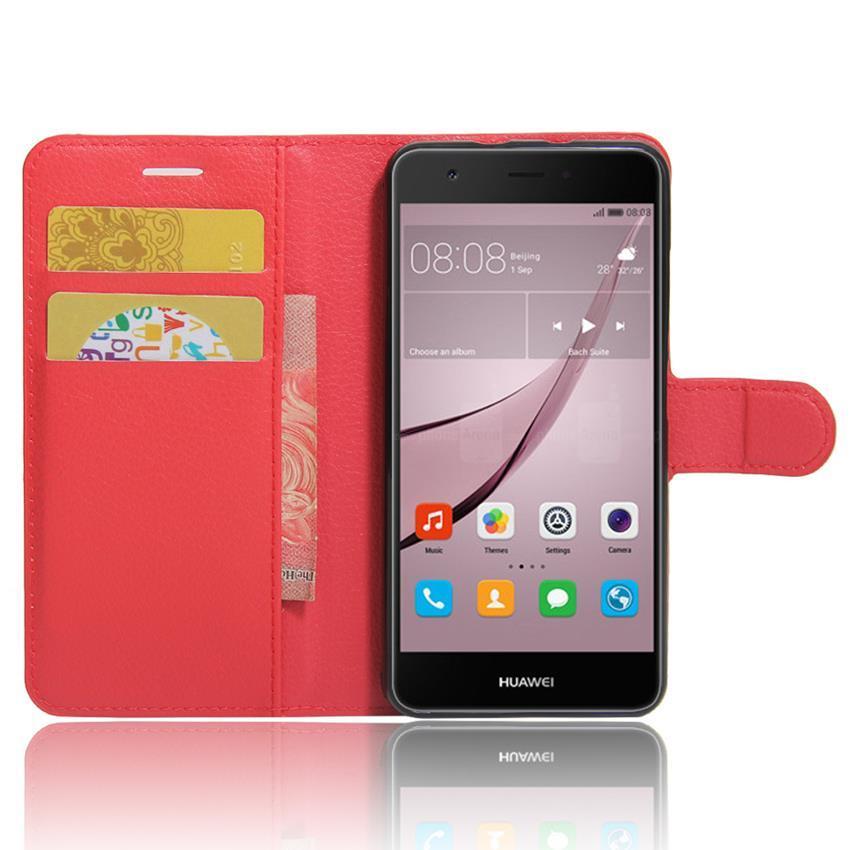 Чехол-книжка Litchie Wallet для Huawei Nova Red (lwrd0072)