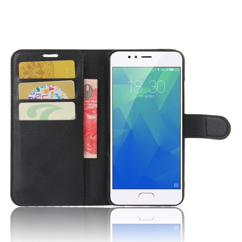 Чехол-книжка Litchie Wallet для Meizu M5S Black (lwbk0136)
