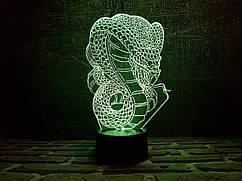 Сменная пластина для 3D ламп 3DTOYSLAMP Кобра