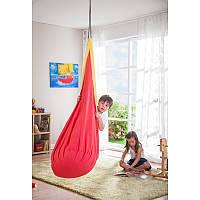 Гамак кресло 160*68 детский малиновый игровой гамак для дома сада прочное кресло шарик