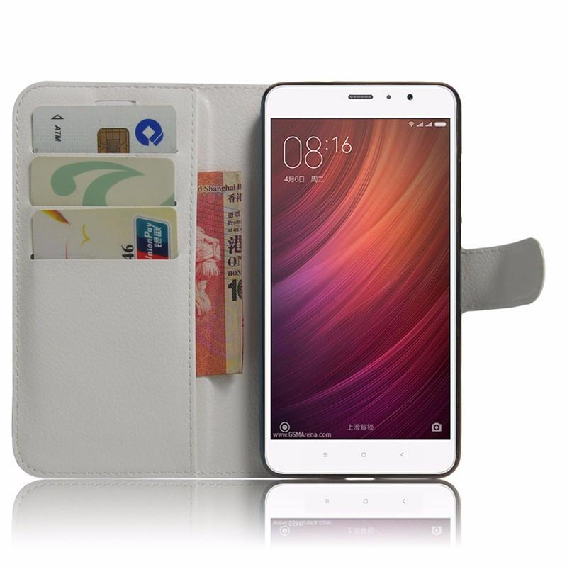 Чехол-книжка Litchie Wallet для Xiaomi Redmi Note 4 White (lwwh0255)