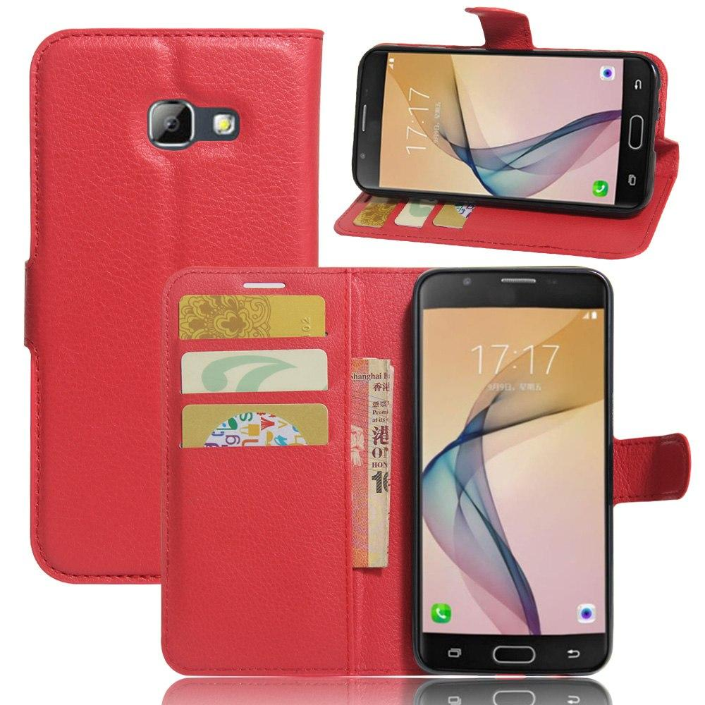 Чехол-книжка Litchie Wallet для Samsung A320 Galaxy A3 2017 Red (lwrd0212)