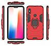 Чехол Ring Armor для Xiaomi Redmi Note 6 Pro Красный (hub_xhRc45528), фото 3