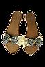Женские легкие шлепанцы  mary possa t032 бежевые   летние