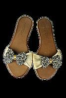 Женские легкие шлепанцы  mary possa t032 бежевые   летние , фото 1