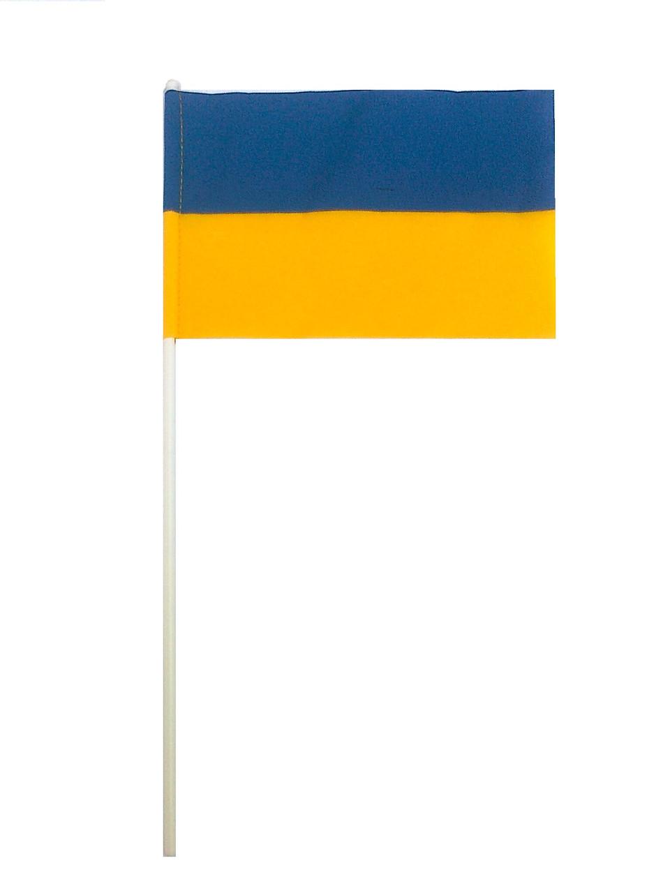 Флаг Украины 10х15см. П-1, габардин